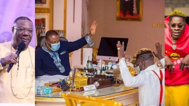 Shatta Wale indirectly inspires the masses to put God first in viral photos with Duncan Williams