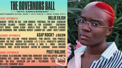 Amaarae listed on official 2021 Governors Ball lineup together with Billie Eilish, Megan Thee Stallion, others