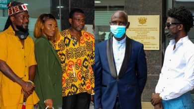 Mark Okraku Mantey vetted! Kuami, Shay, Samini, others, attend in support