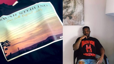 No Pressure! Omar Sterling's 'Same Earth Different Worlds' album hits over a million streams in 48hrs!