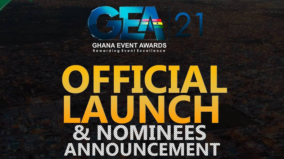 Ghana Event Awards 2021 official launch & nominees announcement slated for July 30