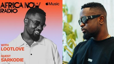 Apple Music's Africa Now Radio with LootLove features Sarkodie this Sunday!