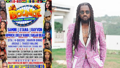 Samini storms USA's Bounce Musik Festival on July 31; set to share stages with Etana, Rayvon, Kiprich, others