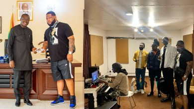 D-Black pays courtesy call on Ghana's High Commissioner to Kenya; links up with Sauti Sol!
