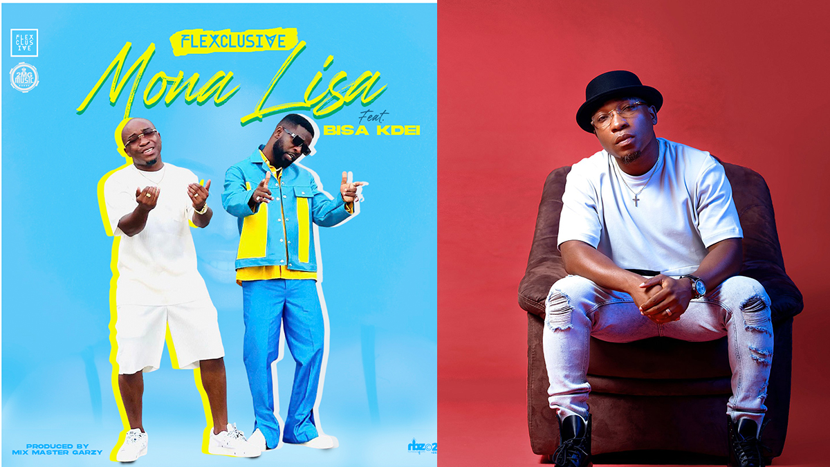 Flexclusive's Bisa KDei-assisted 'Mona Lisa' listed in Nigeria's top 10 songs; clocks over 10k streams on Apple Music!
