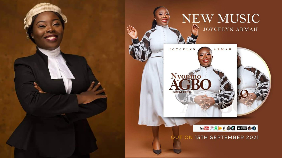 Joycelyn Armah serenades your soul with latest audiovisual; Nyonmo Agbo (Great God)