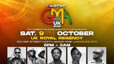 Ohemaa Mercy, Mzbel, Mr Drew, MDK, Gyakie, 17 others billeed to perform at Kab-Fam Ghana Music Awards UK 2021!