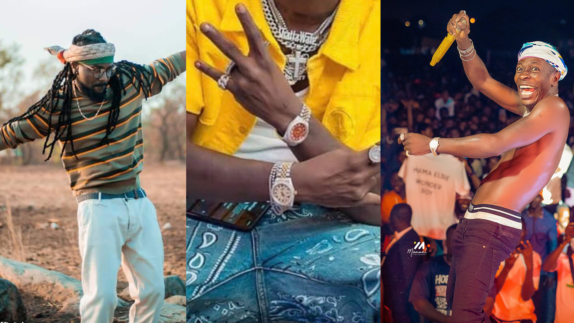 Forget hit song, buy a GHS 329,175 Rolex & lets see - Shatta Wale replies Samini after Teshie concert