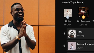Sarkodie's No Pressure album mounts pressure on Boomplay as the most streamed
