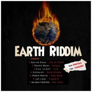 The Earth Riddim by CaskeysOnit feat. Rashid Metal, Eye Judah, Konkarah, Riddim Warrior & Blakk Rasta