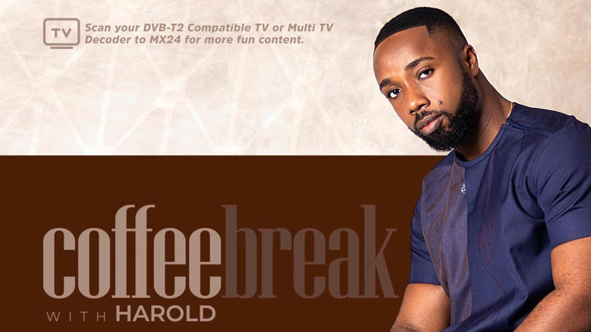 MX24 TV & Harold Amenyah team up for new TV show - Coffee Break with Harold Amenyah
