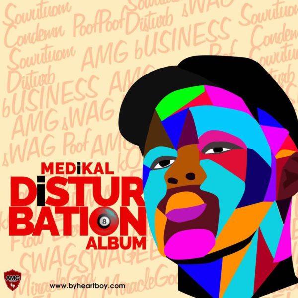 Medikal's Disturbation Album Cover Unveiled
