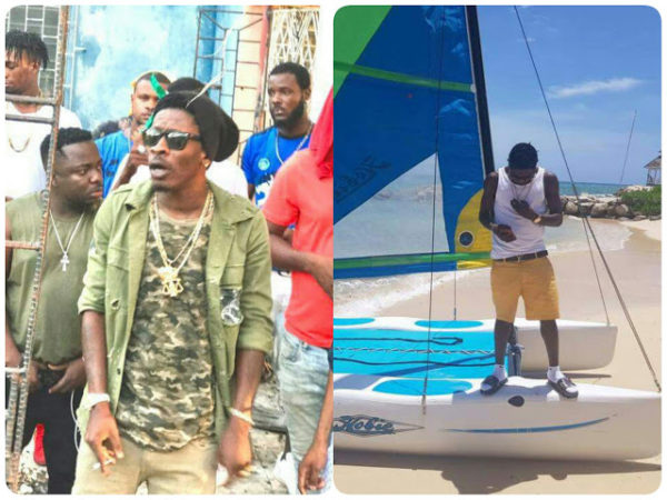 "Shatta Wale Shoots Music Video For ""Inna Dancehall"" in Jamaica"