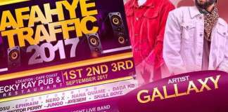 Gallaxy Storms Cape coast This Weekend For Oguaa