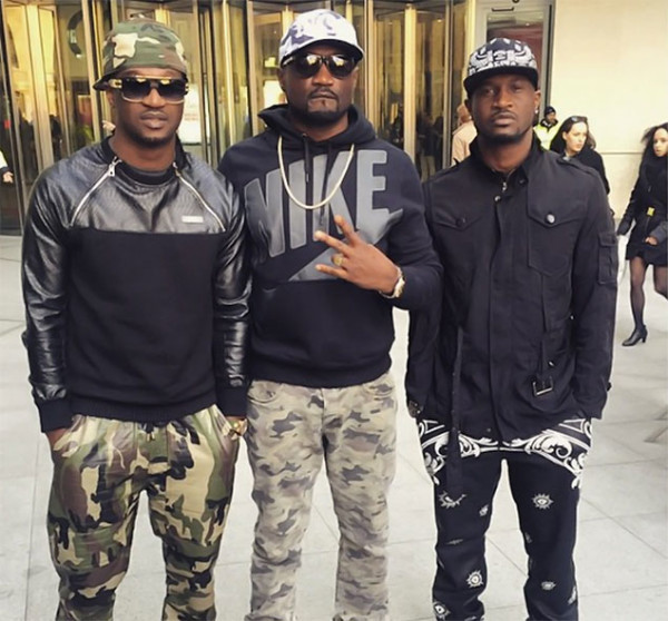 Peter And Paul of P-Square Get Into A Physical Argument
