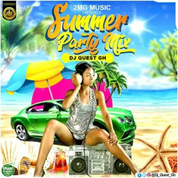 DJ Quest Features Kwesi Arthur, Kuami Eugene, Shatta Wale On His Summer Party Mix