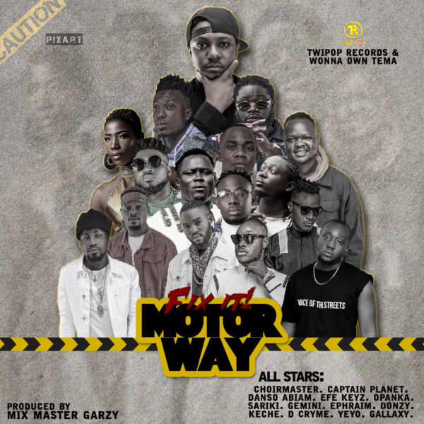 All Stars - Fix It (Motor Way) (feat. D Cryme, Choir Master, Captain Planet, Danso Abiam, Efe Keys, Opanka, Gemini, Ephraim, Donzy, Keche, Yeyo, Gallaxy)