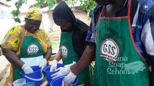 soap making training in Accra