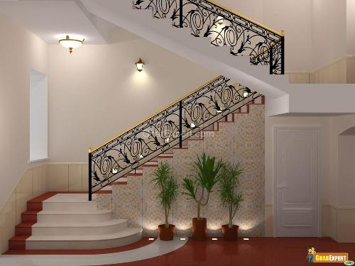 Staircase Railings Staircase Stair Railing Staircase Design   Staircase Design For Duplex   Unique   Wood   Space   False Ceiling   Contemporary