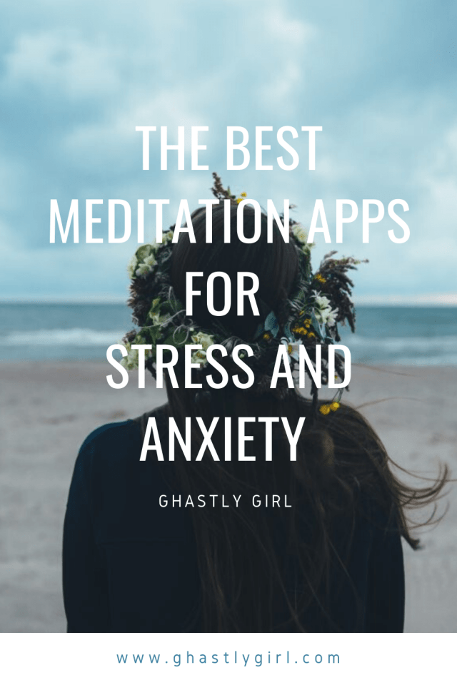 The best meditation apps for iPhone and Android to help deal with anxiety and stress #anxiety #mentalhealth #chronicillness #mindful #meditation #stressreduction