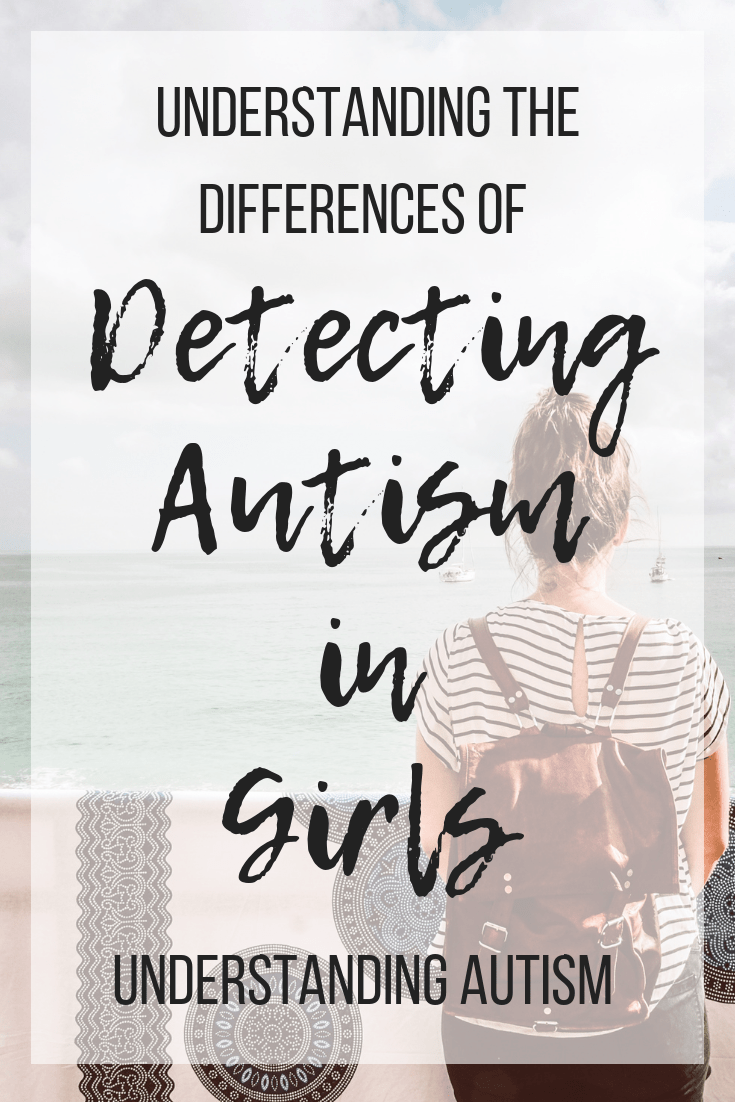 Understanding the subtle difference in an autism diagnosis for girls. #autismingirls #girlswithautism #ASD #autismspectrumdisorder
