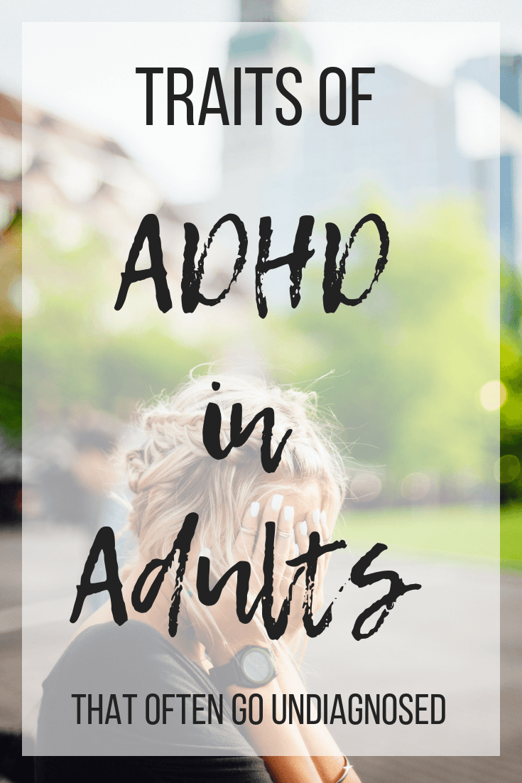 Do you feel like you can never focus? Perhaps you're always having trouble finishing a task? You could be living with undiagnosed ADHD. #adultADHD #ADHDinadults #mentalhealth