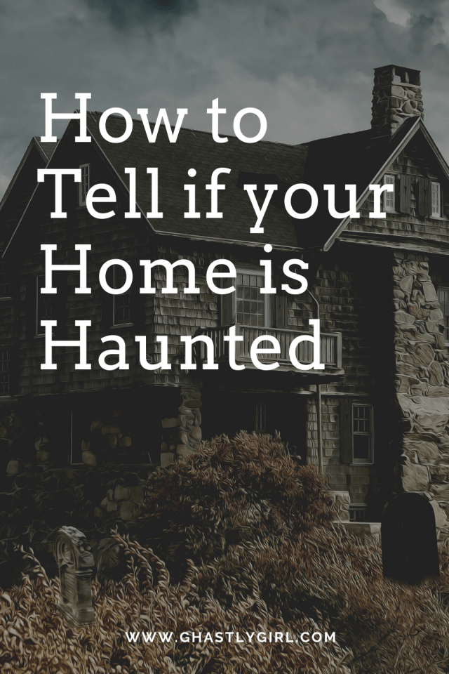 Simple steps to help you decide if your home is haunted #paranormal #haunted #ghost #clearingenergy #occult #pagan
