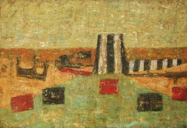'The Playground I', oil on canvas  |  GHAT Collection
