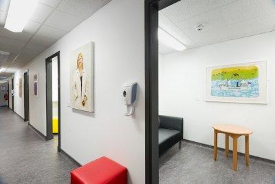 Staff changing rooms - ARI