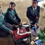 iNNOVATION: FOUR NIGERIAN GIRLS GENERATE ELECTRICITY WITH URINE