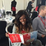 Nana Aba Anamoah Finally Went To The UK To Watch Manchester Match & TV3 Sponsored It?