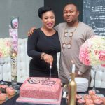 Watch Video Of How Tonto Dikeh Beat The Hell Out Of Her Ex-Husband After Destroying His House