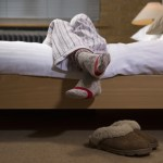 Why Wearing Socks In bed Is good For You – And 'can even make sex better'