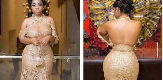 moesha budong dress to ghana movie awards