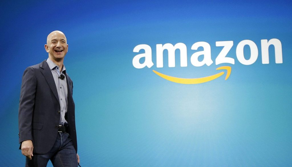 jeff bezos now the richest man in the world
