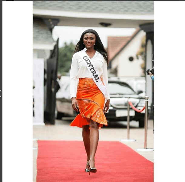 Ruth Quashie-Winner Of Miss Universe Ghana 2017