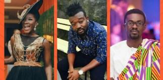 Ebony, Bullet & Nana Appiah Mensah