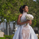 Oh Wait! Is Berla Mundi Already Getting Married Now? The A-List TV Presenter Stuns In This Bridal Gown As She Waits For Her Groom