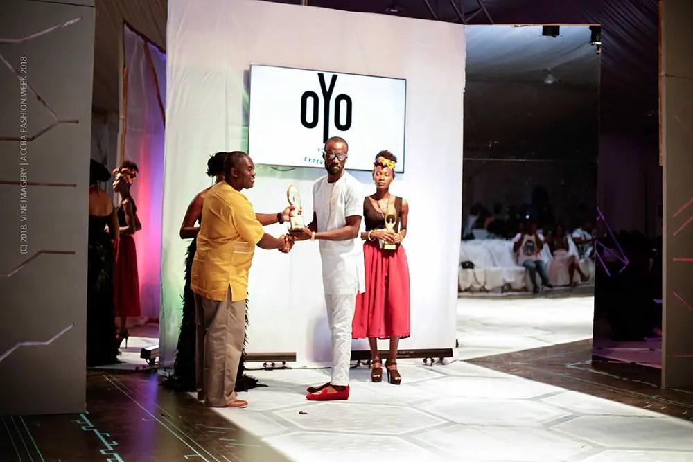 See Full List Of Winners At FashionGHANA Honours & Awards 2018