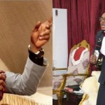 Angel Obinim and his junior pastors lashes a church member for failing to stake 2 Sure Lotto numbers he gave him (VIDEO)
