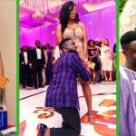 Sarkodie's Wife Tracy Reacts To Reports That She Fell On Stage At KNUST During An Event