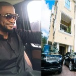 Peter Okoye Flaunts His Mansion & Expensive Cars To Motivate His Fans (Photos)