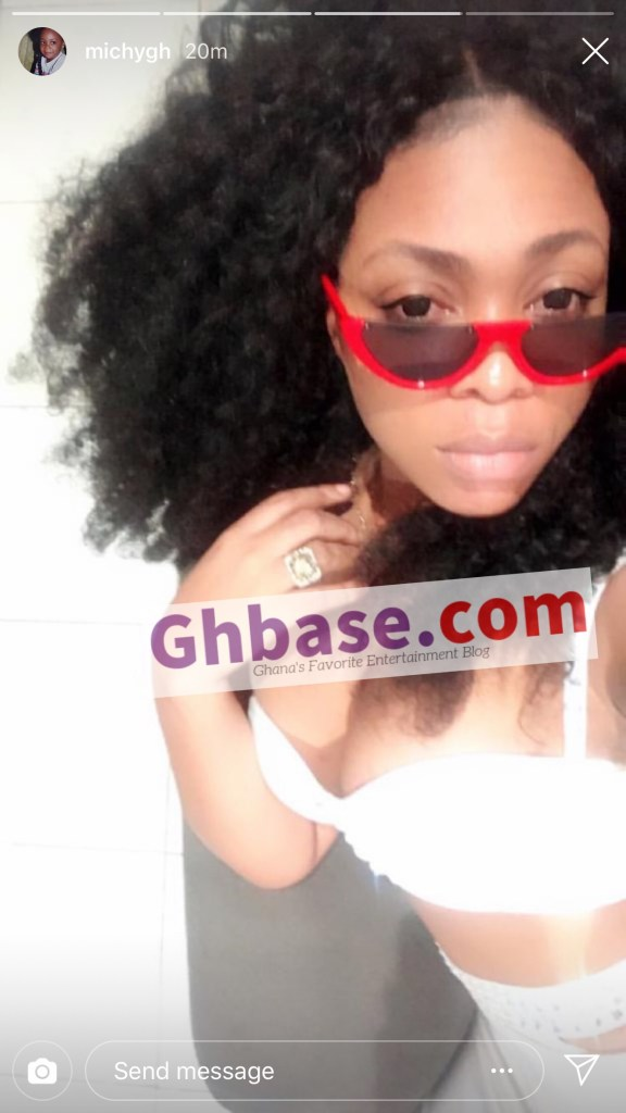 C4842AE1 ACAB 4193 A18C 1A71B1EF453E - Has Shatta Michy Found A New Lover Now? She Flaunts A Ring On Social Media