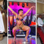 South Africa's Pantless Dancer Blows Over Ghc50k On Coffin Ahead Of Her Death (Photos And Video)