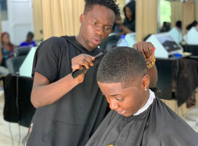 IMG 20190311 074711 840 - No WASSCE, Degree or HND certificate but making millions daily – Celebrity Barber brags