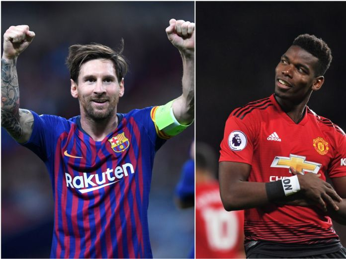 0 messi pogba - Manchester United Vs Barcelona: Winning Big With Just Ghc5 On These Amazing Predictions