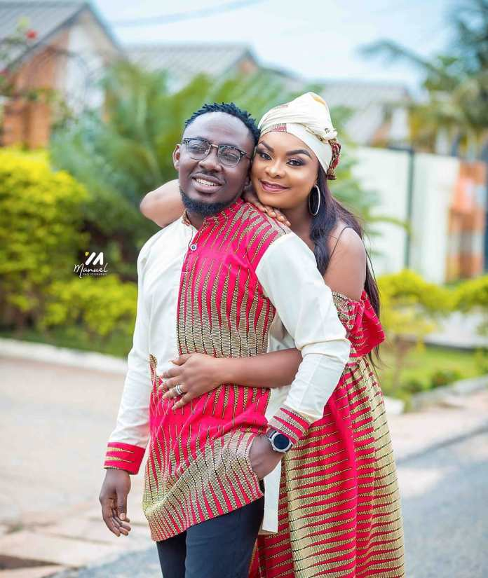 56405593 131099841330725 7747819488152102255 n - PHOTOS: Beverly Afaglo 'Honours' Choirmaster On Their 7th Wedding Anniversary