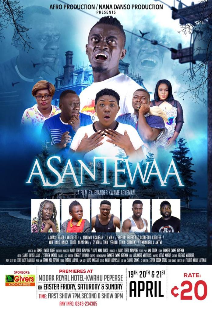 "IMG 20190410 WA0003 - Kidnappers tricks revealed in upcoming movie dubbed ""Asantewaa"" which will be premiered on April 19 (+ Trailer)"