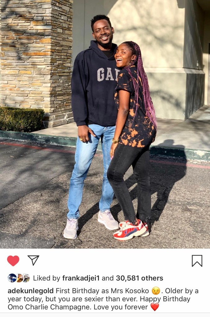 IMG 0777 - Adekunle Gold Sends Cutest Birthday Wish To His Wife Simi