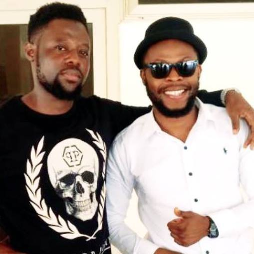 Mr Guru and kalybos - Guru Pays GHS4 Before He Was Allowed To Take A Picture On Adomi Bridge